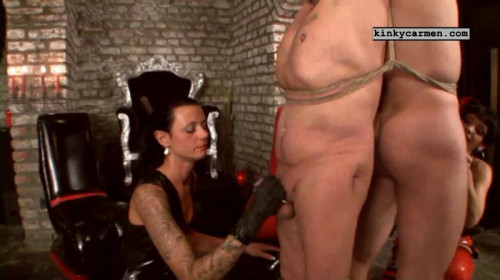 KinkyCarmen Perfect Cool Nice Sweet New Vip Collection. Part 3. Femdom and Strapon
