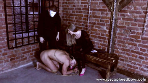A New Mistress of Slave Vasiliy part 2 Femdom and Strapon
