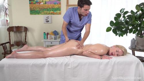 Hard work on massage table HD Massage