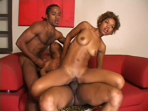 A Black Bisexual Threesome Gets Hot Ebony
