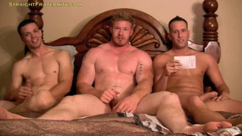 Straight Fraternity - Luke, Dane & Aiden Gay Unusual