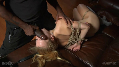 Bondage, spanking, wrist and ankle bondage and ache for sexy blond part 3
