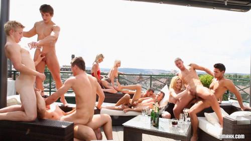 The Bi High Life Part 2 Sex Orgy