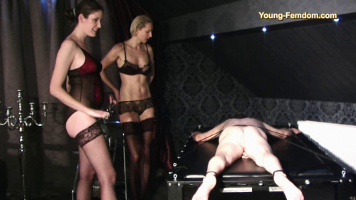 Young-femdom – Goddess Marlene and her apprentice – 2017