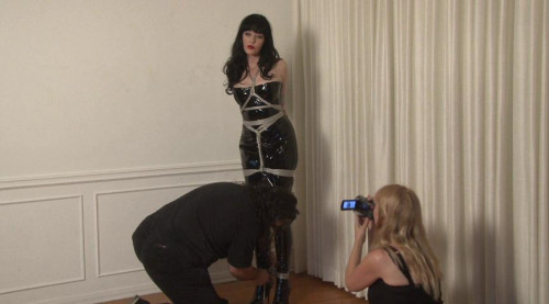 Bdsm Most Popular Boots and Shiny PVC in Bondage