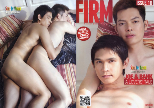 FIRM ISSUE vol.10 Joe & Bank A Lovers' Tale Asian Gays