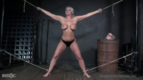 Dominate Experiments With Busty London River BDSM