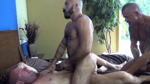 Cock-crazed bears in raw fuck Gay Movies