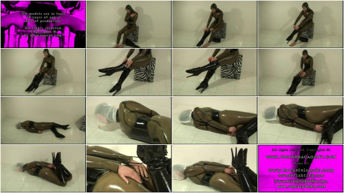 Toaxxx - Rubber Slave Julia Power 1 BDSM Latex