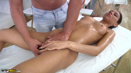 Cool massage fuck video with anal sex Massage