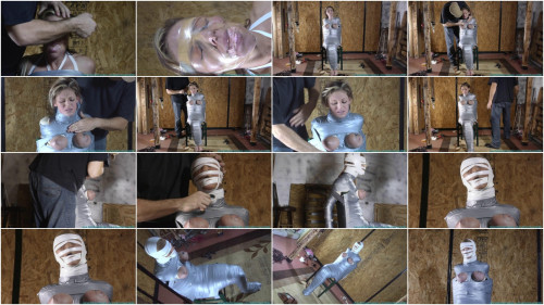 Courtney Mummified Gag Doll 3 part - BDSM,Humiliation,Torture HD 720p BDSM