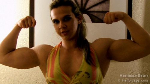Vanessa Brun - Bodybuilder Female Muscle