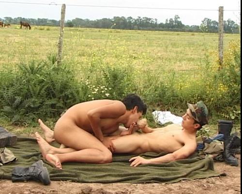 Military gay picnic