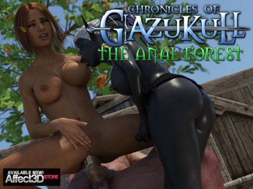The Chronicles Of Gazukull – The Anal Forest