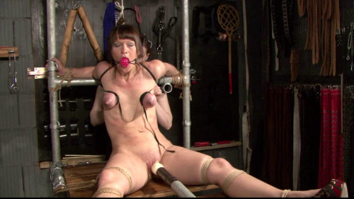 Breast Torture Lesson for Yvette Costeau by Claire Adams