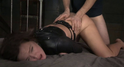 Krissy Lynns Booming Breasts And Butt Straightjacketed And Roughly Fucked