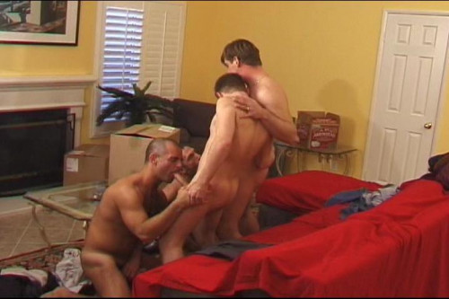 Office Guys Have A Nasty Anal Foursome