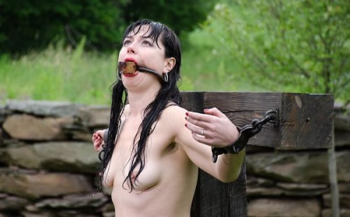 Wonderful BDSM Outdoors