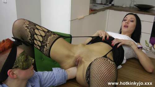 Secretary deep ass fisting and belly bulge with Lady Kestler (2015) Fisting and Dildo
