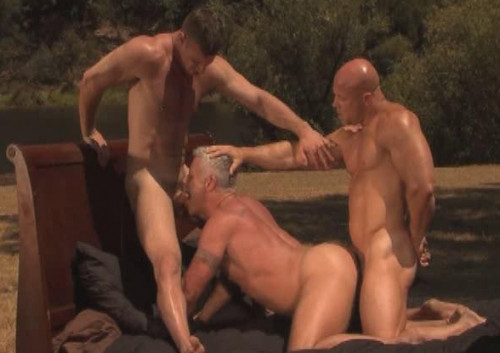 Outdoor Anal With Older Fuckers