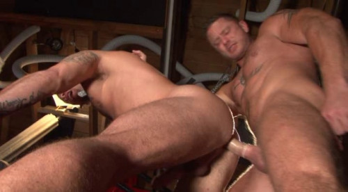 Insatiable bottoms destroyed by huge dicks Gay Movie