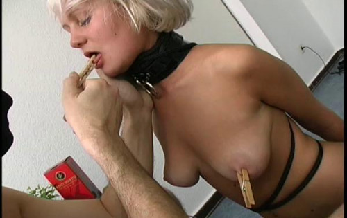 Hot Sexy Blonde Bondage Slut