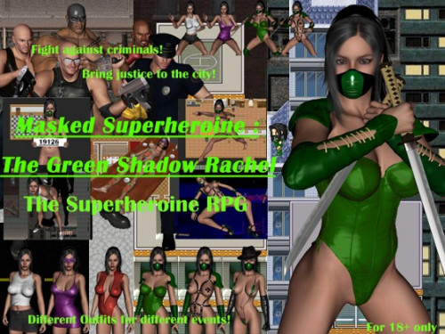 The Green Shadow Rachel - Super RPG Game