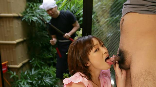 Yui ayana sucks off her paramour and receive cummed onto