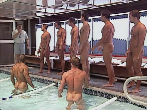 College Swim Team No Suits Required Gay Unusual