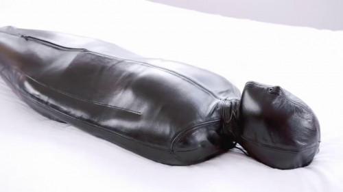 Minas Sleepsack Nap BDSM Latex
