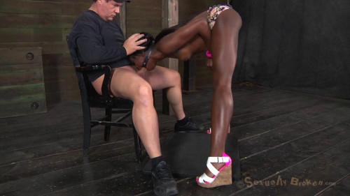 Ebony Slave Ana Foxxx Punished & Fucked Hard