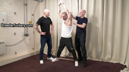 Anton - Fixed In Position With An Anal Hook