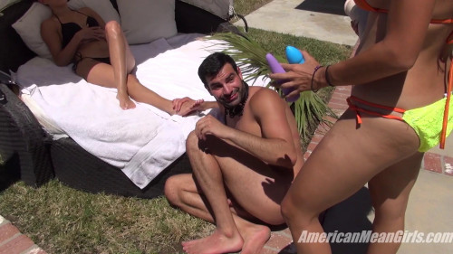 Edging His Ass Femdom and Strapon