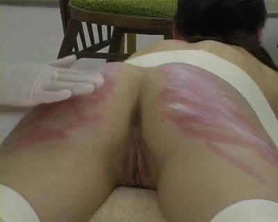 Beating ass girl (brutally)