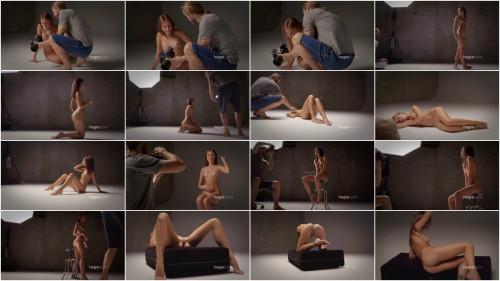 Photo of Karina Karina Behind the Scenes Erotic Video
