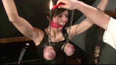 Breast Torture for Slave Eva
