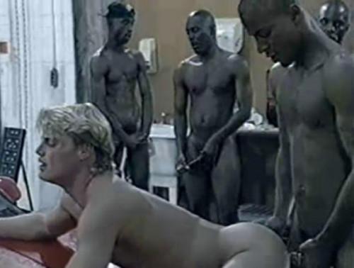 Black balls in raw orgy Gay Retro