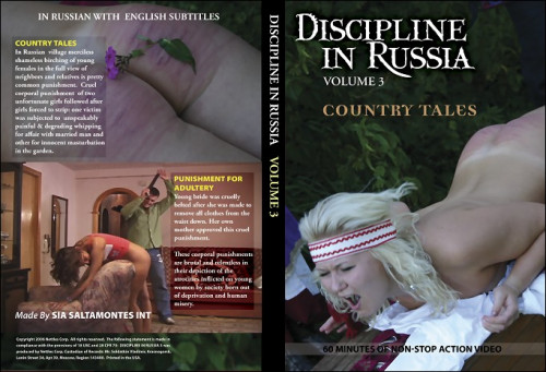 Discipline in Russia #3 – Country Tales & Punishment for Adultery
