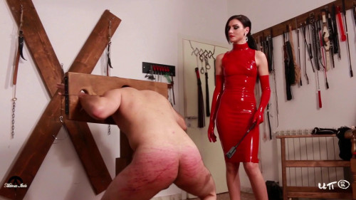 Red Harsh Whipping - The Rat Bastards Femdom and Strapon