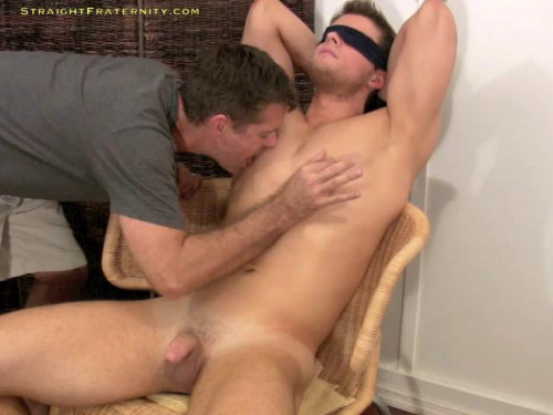 6' 2 Stud Leon Agrees To A Hazing Vid & Gets A Hot Bj Gay BDSM