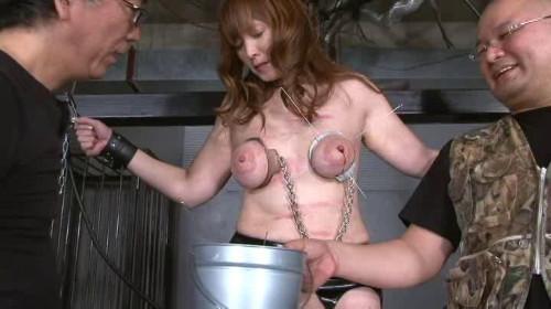skewered stretching torture Asians BDSM