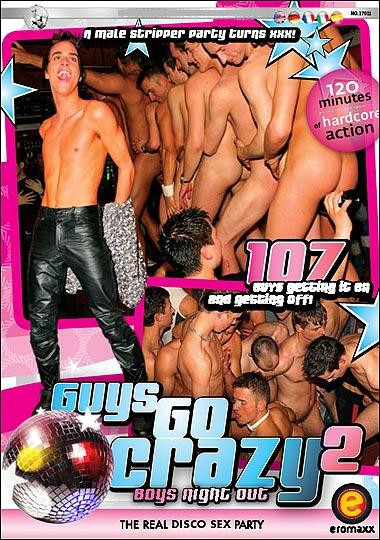 Guys Go Crazy 2: Boys Night Out Public sex