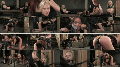 Hard bondage, torture, spanking and strappado for two hot models (Part1)