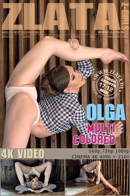 Zlata - Jun 05, 2016 - Multi Colored Erotic Video