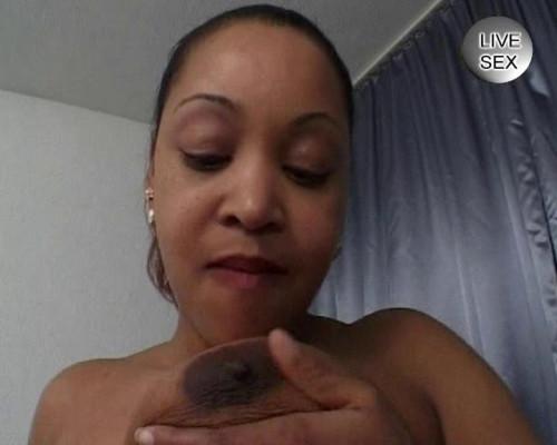 Sexual fiesta for black whore Masturbation