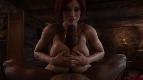 Triss's Pleasure - Full HD 1080p 3D Porno