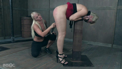Helena Locke & London River Love Hard Bondage BDSM