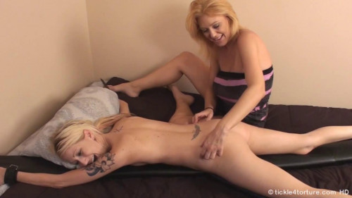 TickleTorture - Rene Face Down and Tickled to Orgasm