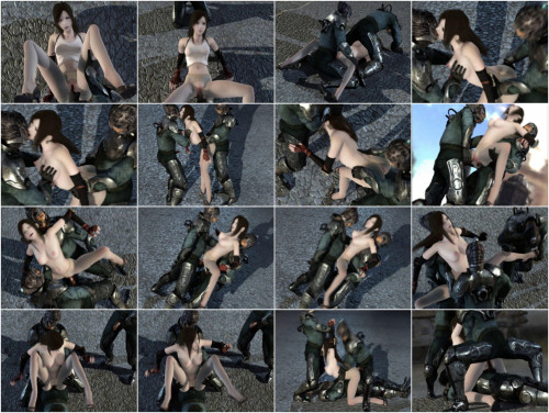 Hard Orgy For Captured Slave 3D Porno
