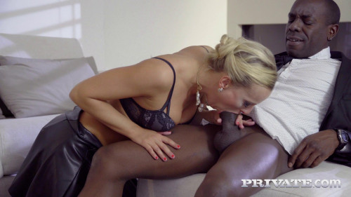 Victoria Pure, Finishes Interracial Anal With Creampie Interracial Sex